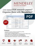 Mendeley Poster A4