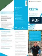 Celta Brochure 2013
