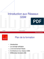 Introduction aux réseaux GSM