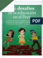 """""""Los Desafíos De La Educación en el Perú"""" po PaoloDurand"""