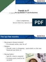 Trends in IT