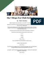 Tyler Durden - On 7 Steps for Club Seduction
