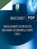 Bancomext Financiamiento de Proyectos