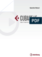 Cubase Operation Manual