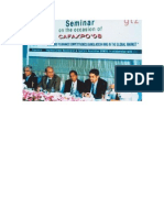 Prof. Syed Ahsanul Alam at CAFAXPO 08 Seminar Along With Senior Vice-President BGMEA