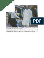 Prof.syed Ahsanul Alam Parvez With Postal & Telecom Minister Md.nasim and Chittagong City Mayor,Al-Haj a.B.M Mohiuddin Chowdhury