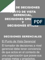 3. Decisiones Gerenciales y Eticas