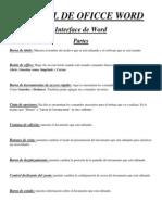 Manual de Oficce Word