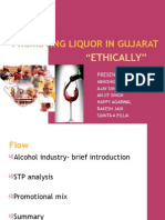 Promotion of Liquor in Gujarat