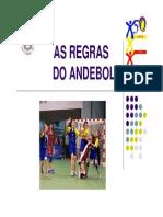 Andebol_regras Do Jogo