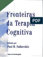Fronteiras Da Terapia Cognitiva