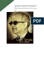 Calin Gruia a Fost Un Scriitor Roman