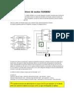 Modificación driver de motor FAN8082