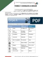 Comunicado Gripe A/H1N1 (Digitex) 20 de agosto de 2009