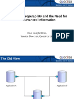 SOA, Interoperability and the need for advanced information