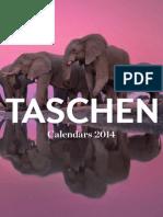 taschen calendar 2014