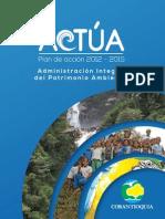 Plan de Accion Corantioquia 2012-2015