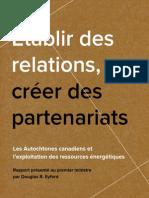 Établir des relations, créer  des partenariats