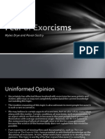 Fear of Exorcisms