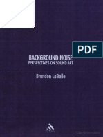LaBelle, Brandon - Background Noise No OCR