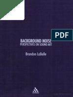 LaBelle, Brandon - Background Noise No OCR