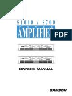 Samson s700-s1000_manual