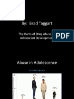 the harm of drug abuse on adolescent development