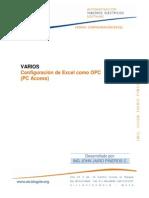 Configuracion Excel Como Opc