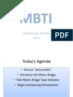 MBTI SLS Presentation