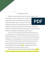 rhetorical analysis assignment sheet