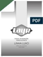 Manual Do Forno Eletrico Layr