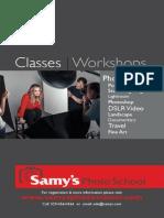 Samy's Photo School Catalog 2014