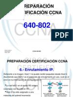 PREPARACIÓN CERTIFICACIÓN CCNA (ENRUTAMIENTO IP)