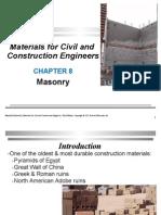 CH08 Masonry