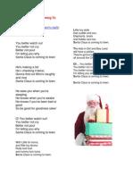 choir christmas songs