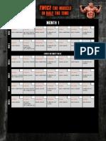 Mi40 Calendar