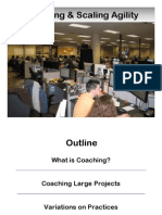 Coaching and Scaling Agility