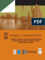 Poligono Xochimilco Tlahuac Milpalta Unesco