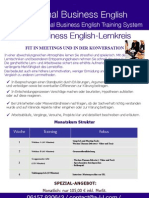 A.L.L. Optimal Business English Lernkreis (Web-Based Kurs) Information