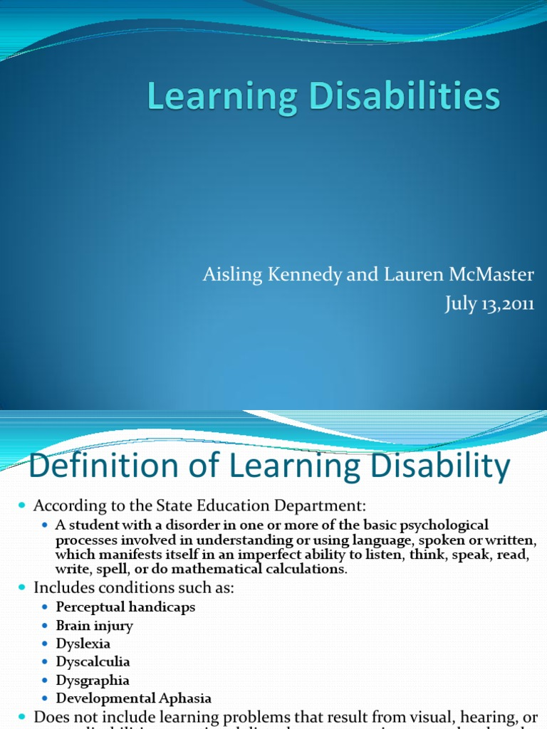 learning disabilities | Learning Disability | Dyslexia