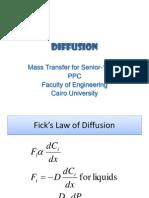 Molecular Diffusion