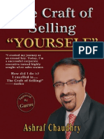 The Craft of Selling YOURSELF By Ashraf Choudhary
