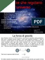 Tesina Quattro Forze Universo