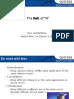 """The rule of """"N"""""""