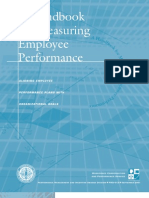 A Handbook for measuring employee performance