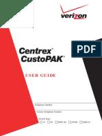 Verizon Custopak East User Guide en Xg