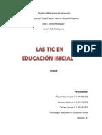¨ENSAYO¨ LAS TIC EN EDUC. INICIAL