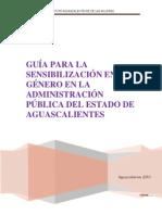 Guía sensibilización de género en Administración pública