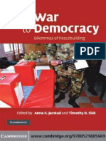 Jarstad & Sisk From War to Democracy