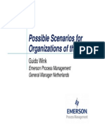 possible scenarios for organisations for the future - guido wink emerson process management